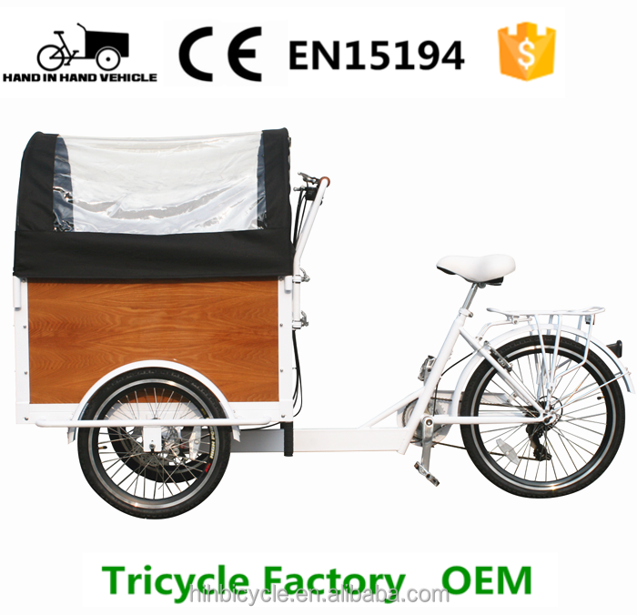 Deluxe eco bikes kids carry trike 3 wheel cargo bike price