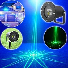 SUNY Mini Outdoor /Indoor Led Laser Light Green Lighting Projector with Show Outside Landscape Garden Home Xmas Party