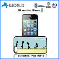 Wholesale price 3D cartoon OEM mobile phone case for iphone 5