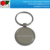 High quality zinc alloy die casting keychain with laser engraving logo