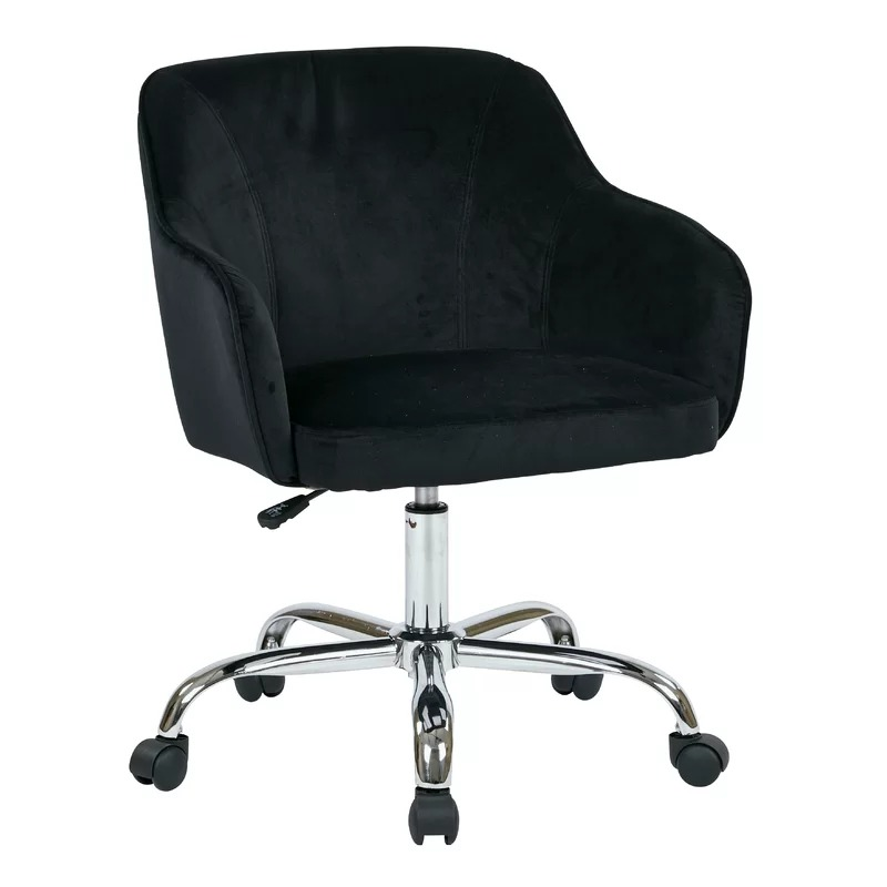 OK-<strong>C118</strong> Heavy duty classic velvet Mid Back adjustable Ergonomic conference Task Chair Office Chair