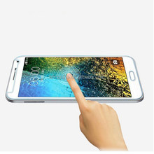 HD Clear LCD Clear 9H Tempered Glass Screen Protector For Samsung Galaxy E5 E500F Protective Film guard