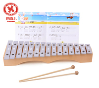 children toys new 2016 style wooden knock piano for kids with 15 sounds/wooden educational toy