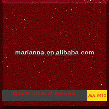popular than marble MA-G110 quartz amber-A red stone with high quality in foshan