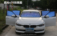 Car window static cling vinyl film/static cling car window film