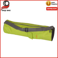 OEM Welcomed Canvas Yoga Mat Bag Gym Bag With Mesh Bottom for Air Flow