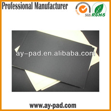 AY Self-adhesive natural rubber foam sheets/roll/pad/mat for mouse pad material