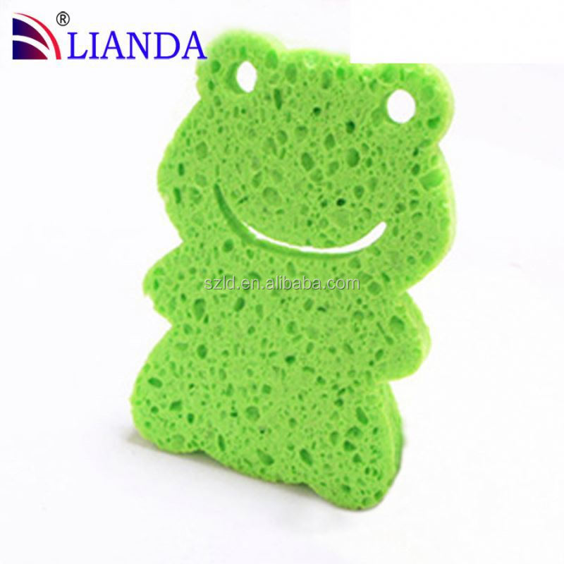 can be cut into any size for a suitable shape cleaning sponges, natural cellulose sponge, cellulose cotton fibre