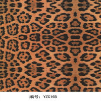 hiigh quality Tiger animal skin pattern water transfer printing film / water-base pigment ink