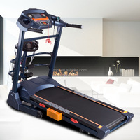 HANGZHOU BIGBANG Home Gym Equipment Commercial fitness 3.0HP DC Motor Treadmill with handle Extension for sale