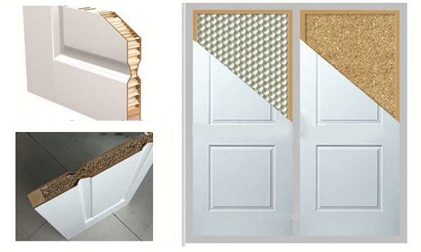 Cheap unfinished 6 raised panel hdf moulded unfinished - Porte coulissante interieur pas cher ...