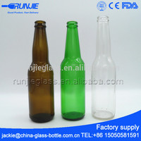 Runjiee FDA certificated Wide Mouth beer bottle prices