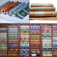 PVC Floor Covering for indoor usage/ natural wood looking plastic flooring/hot selling vinyl rolls
