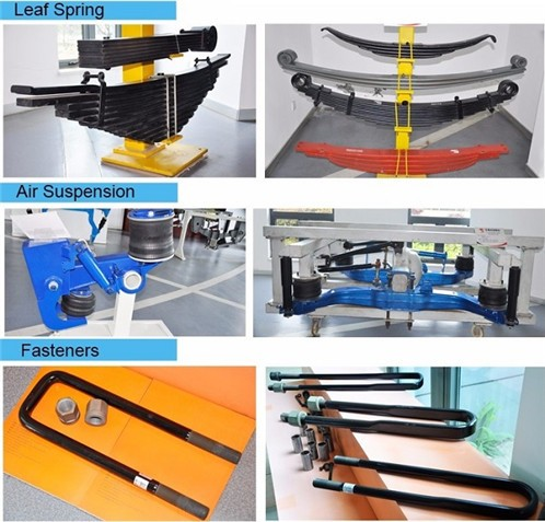 Yuancheng automobile parts for trailer truck European Series OEM leaf spring