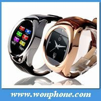 New Wrist Watch Phone GD777 Quad Band Java Camera Touch Screen MP3 Ring watch phone