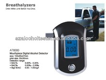 Personal Mouthpiece Breathalyzer Detector Alcohol Tester Alcometer