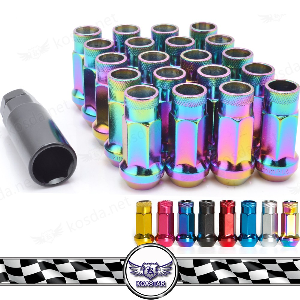 Alloy Cars Neo Chrome Wheel Lug Nut For Wheels , Alloy Wheel Nut Bolt