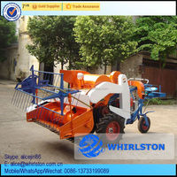 China 2016 Newest low price small wheat grain harvest machine/mini rice paddy combine harvester/mini rice harvester