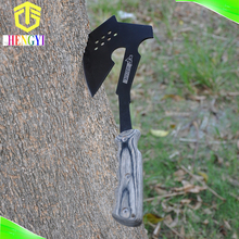 Portable survival hatchet wooden handle with nylon bag