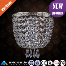 Chic chrome wholesale plexiglass classical wall lamp
