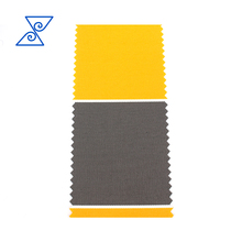 High quality yellow oxford polyester fabric PU coated waterproof Awning fabric