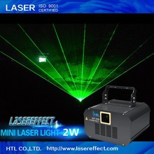 High quality indoor 2W green mini laser animation disco light for PUB laser show