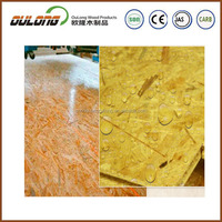 OSB manufactures used waterproof cheap OSB board for building/packing/furniture