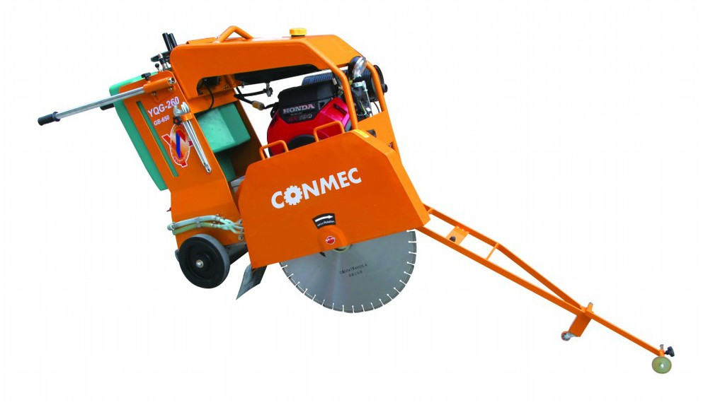 Electric Start Honda GX690 16.5kw/22.1hp Gasoline Concrete Cutter(CE),Concrete Cutting Machine