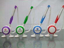 2016 Promotional Plastic Table pen, Desk Stand Ball Pen, Counter penCH6505