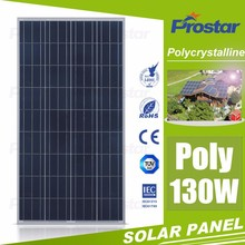 China factory cheap price 18v 130w poly solar panel