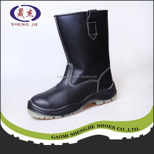 Top Sale custom steel toe pu injection safety boots