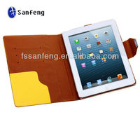 China factory cheap wallet case for ipad 4 stand pouch/leather stand for cover ipad 4 case/waterproof case for ipad 4