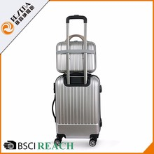 Best Quality commoned lock ABS+PC hand luggage holdall with wheels cabin 50x40x20 office trolley bag