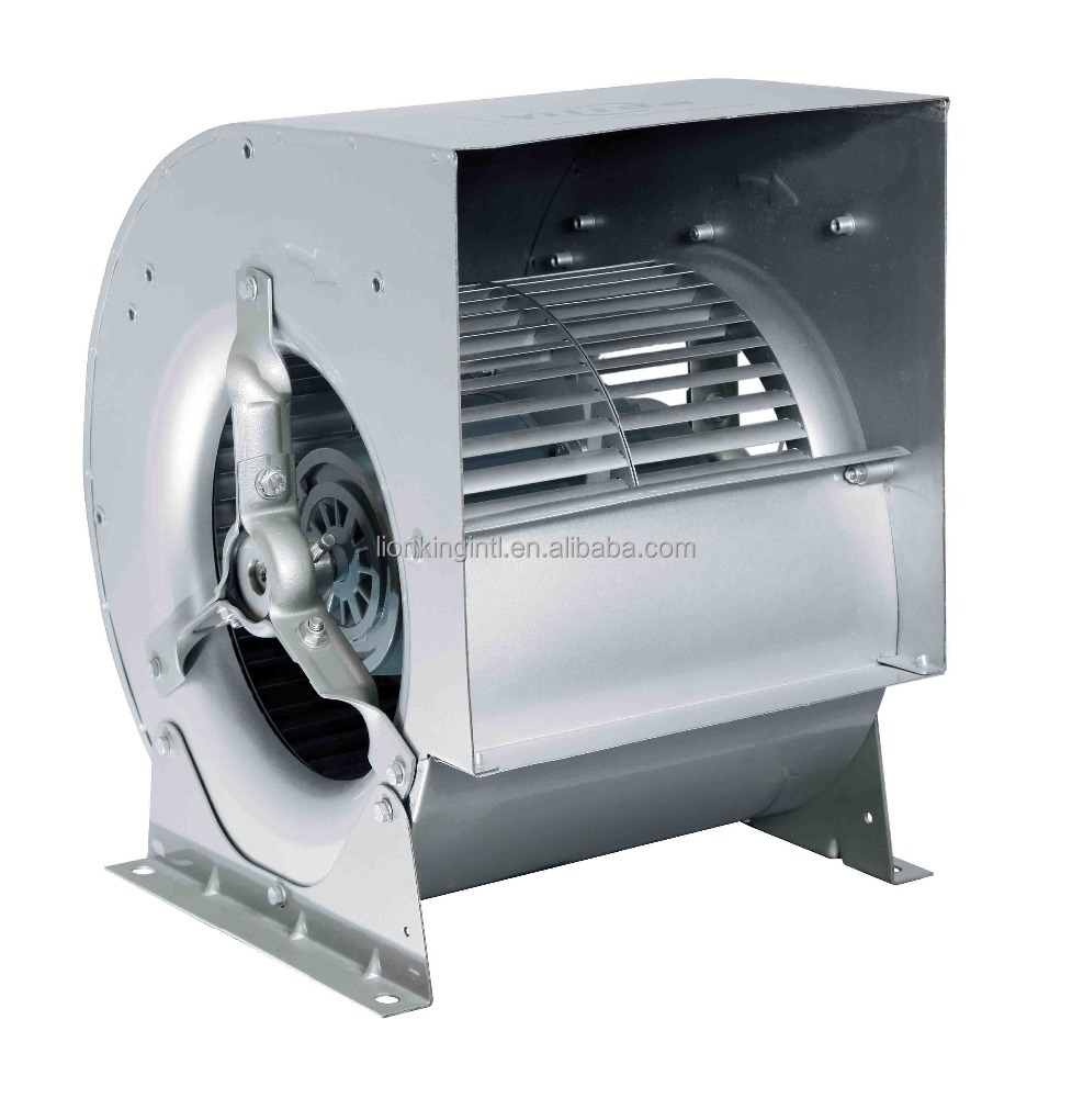 Double Inlet Forward Curved Centrifugal Fans