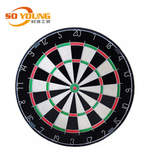 18 inch Professional good quality sisal fiber Bristle Dart board with Customized