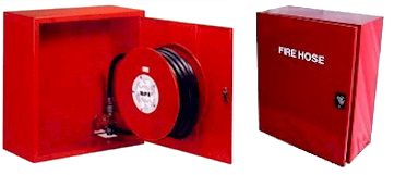 Fire fighting Hose Reel with Reel and Cabinet