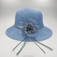 New Design Ladies Church Sinamay Hats