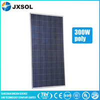 Cheap photovoltaic 72 cells 300w poly solar module portable pv panels