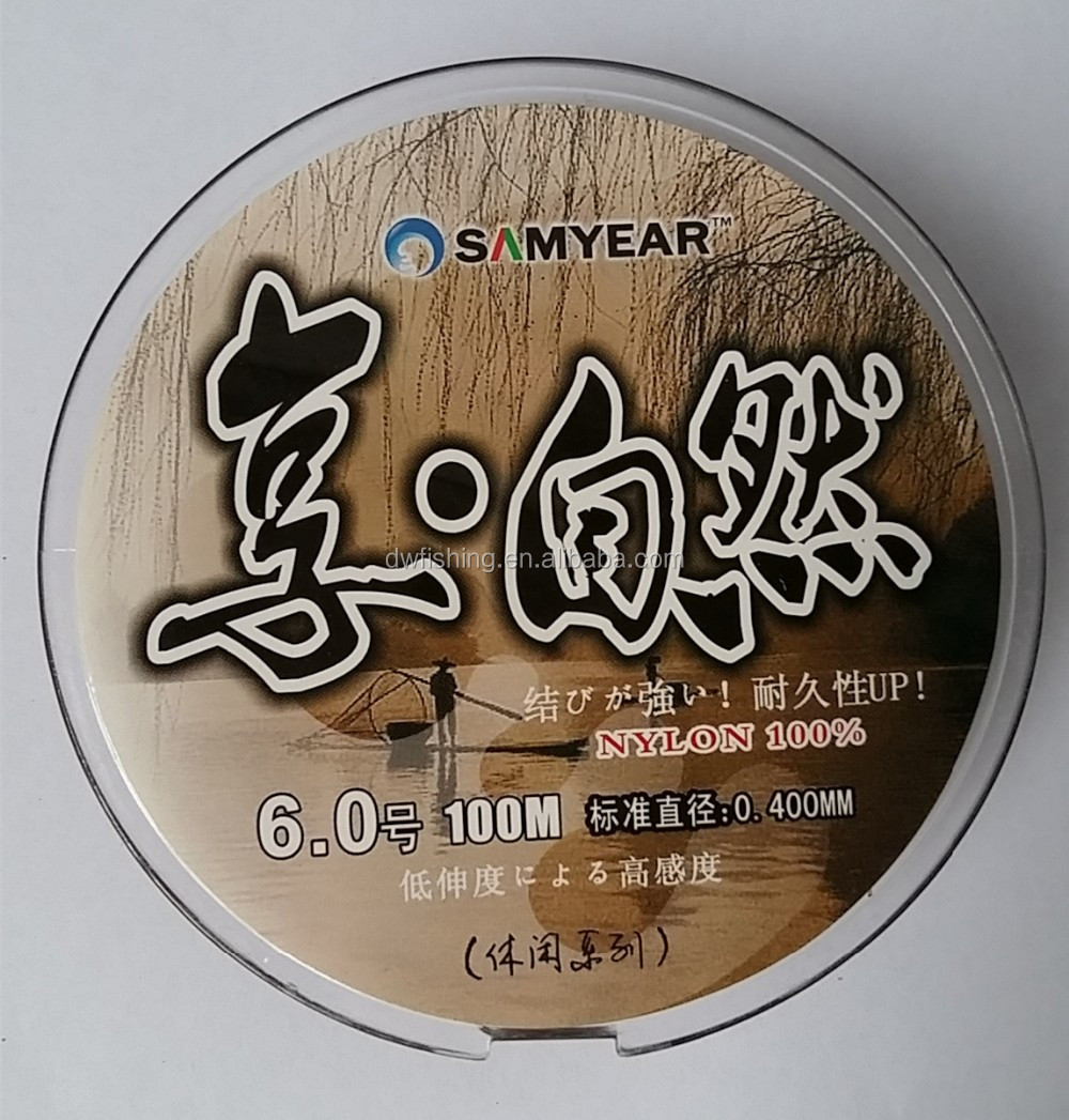 Nylon MonofilamentFishing Line Nature