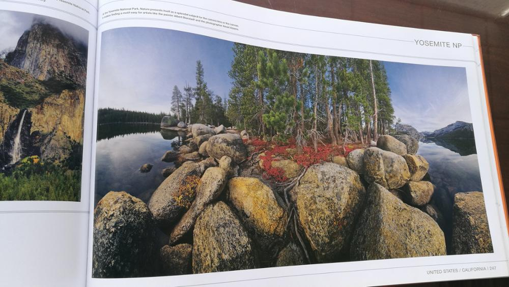 Landscape photo book printing hardcover