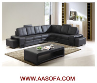 buffalo leather corner reclining sofa bed for sale