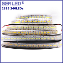 120leds/m Self Adhesive SMD 2835 12V White Led Strip Lights with 3M Tape