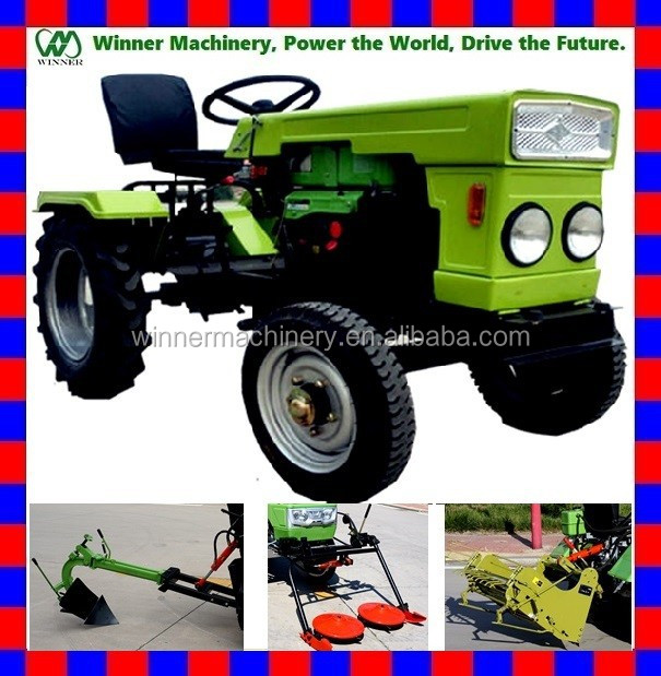 2015 china latest cheap15hp / 13hp/ 12hp small tractor /mahindra mini tractor price