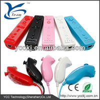 hot hot sale game player for wii / video game accessories for nintendo remote and nunchuck controller