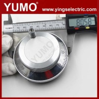 YUMO OEM ISM8060 60mm CNC 5V 12V Voltage AB line driver NPN MPG Handwheel Manual Pulse Generator hd encoder
