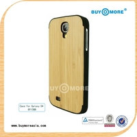 most popular products 2014 brands phone case for samsung galaxy s4 with wooden case