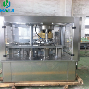 Aluminum can gas soft drinks filling machine / carbonated beverage packaging line