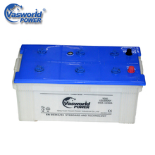 Top Products N200 Korea 12V 200Ah Dry Charged Car Battery