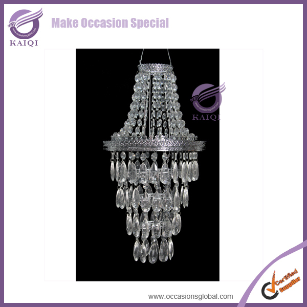 Wholesale Modern Able Table Top Crystal Chandelier Lighting Centerpieces for Weddings
