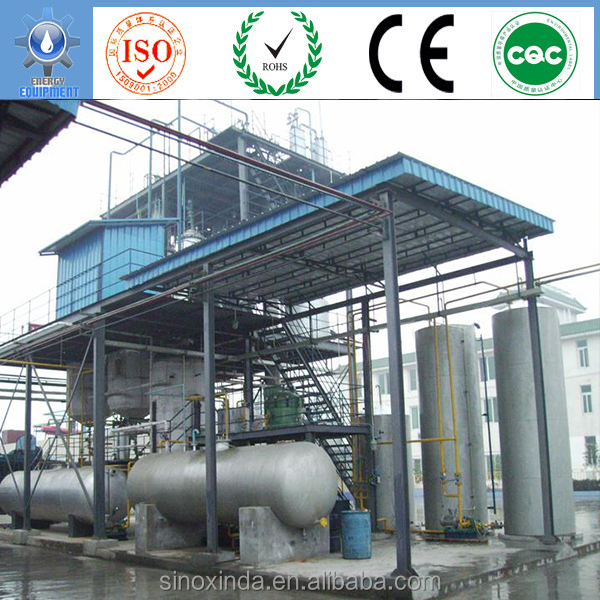 re-refining equipment manufacture oil crops recycling bio diesel plant